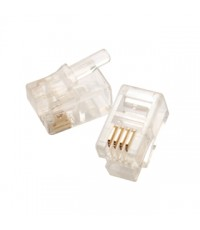 Modular Plug 4P4C For Flat Cable Soil Wire  15u