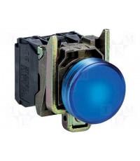 ไพล็อทแลมป์แบบ lED ต่อตรง ( สีน้้ำเงิน )  XB4-BVB6