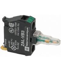 ZALVM3 : คอนแทรคบล๊อก GREEN 220V TELE