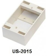 LINK US-2015 CABLE – PLASTIC WALL BOX 2X4″ 38MM (IVORY) LINK