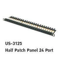 LINK US-3125 CABLE – CAT6 HIGH-DENSITY PATCH PANEL 48 PORT (1U) WITH MANAGEMENT HIGH DENSIT PANEL