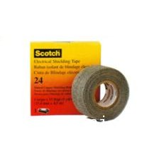 3M TAPE เทปพันสายไฟฟ้า 3M SCOTH™ 24 ELECTRICAL SHIELDING TAPE 24 ELECTRICAL SHIELDING TAPE 1 IN.X15F
