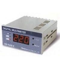 Meter 96x48 Amp+Volt รหัสMT214  Range AC 5A(ต่อผ่านCT 10/5A-8000/5A)AC600V  (Shinohawa)