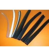 รหัสHS645  ยางกันบาดร่อง 1.0มม สีดำ  (ราคา/10เมตร)