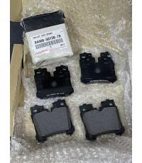 ผ้าเบรคแท้คู่หลัง สำหรับ Lexus LS460, LS460l แพ็คเกจกล่อง Lexus แบบที่ขายในศูนย์ที่ญี่ปุ่น
