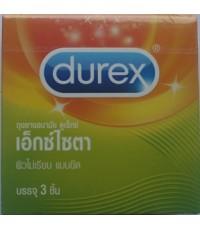ถุงยางอนามัย ดูเร็กซ์ เอ็กซ์ไซตา Durex Exita Condom
