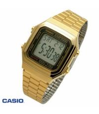 นาฬิกาข้อมือ คาสิโอ Casio Data Bank รุ่น A178WGA-1AUDF