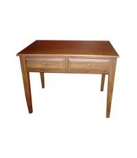 โต๊ะทำงานขาสอบ 2 ลิ้นชัก