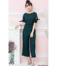 จั๊มสูทผ้าซาร่า จั๊มสูทกางเกง ราคาถูก จั๊มสูทสวยๆ แฟชั่นใหม่ แฟชั่นพร้อมส่ง จั๊มสูทสวยหรู ดูแพง