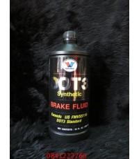 Vavoline น้ำมันเบรค DOT3 เกรดสังเคราะห์ ขนาด 1 ลิตร