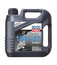LIQUI MOLY MOTORBIKE 4T SYNTH 10W-40 STREET 1243 4l.