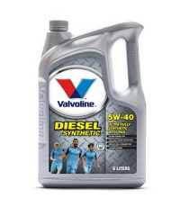 VALVOLINE DIESEL SYNTHETIC SAE 5W-40 6L