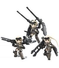 Desktop Army Frame Arms Girl KT-321f Gorai Series (Set of 3) w/Bonus Item