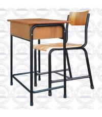 โต๊ะเก้าอี้นักเรียนชนิดโครงเหล็กกลม A3