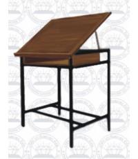 PTB 003 A36โต๊ะเขียนแบนพร้อมเก้าอี้ A-9