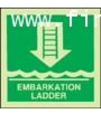 Embrakation ladder