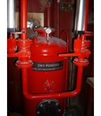 ถังดับเพลิง ขนาดบรรจุ 350 กก.