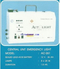 CENTRAL UNIT EMERGENCY LIGHT รุ่น AC-261