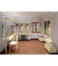 walk- in closet U-shape fittinghome