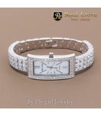 (หมดสต๊อค)นาฬิกาข้อมือ Royal Crown รุ่น JEW2311B-RH
