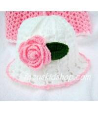 หมวกเด็ก Rose Only
