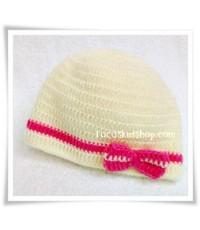 หมวกเด็กไหมพรม H003