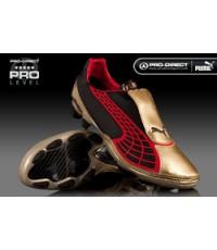 Puma v1.10 FG Gold/Black/Red ใหม่ล่าสุด