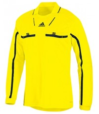 เสื้อกรรมการAdidas Referee แขนยาว สีเหลือง