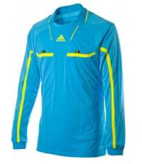 เสื้อกรรมการAdidas Referee แขนยาว สีฟ้า