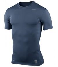 Nike Pro core Tight short sleeve สีกรมท่า