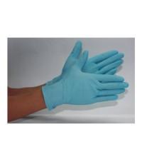 ถุงมือESD :   BLUE NITRILE GLOVES