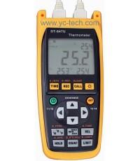 เครื่องวัดและบันทึกอุณหภูมิแบบตัวเลขสามารถเก็บข้อมู้ลได้ รุ่น DT-847U 4 Channel+data logger