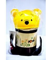 ถังใส่ขยะในรถลายหมีพูห์