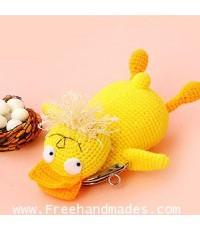 กระเป๋าโครเชต์ Pinny Gang Jolie The Duck โจลี่เดอะดั๊ก 8x4.5 นิ้ว