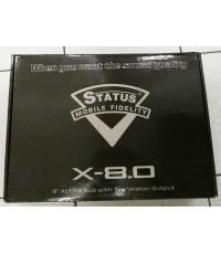 STATUS X- 8.0