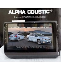 Alpha coustic จอAndroid ตรงรุ่นรถ  Honda CIVIC FB (Ram 2 GB / Rom 16 / 4 Core )
