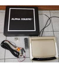 จอเพดาน ALPHA COUSTIC (10.4 นิ้วMIRORLINK)