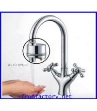 ปิดเปิด ก๊อกน้ำอัตโนมัติ ระบบเซนเซอร์ ใช้แบตเตอรี่ (แบตเตอรีใช้งานได้4000ครั้ง)(FW006)