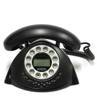 โทรศัพท์บ้าน Alcatel TEMPORIS RETRO-EX สีดำ