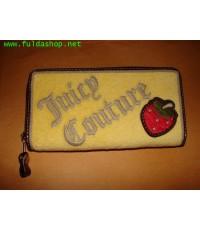 กระเป๋าสตางค์ของจุ๊ยซี่ กูตูร์ สีเหลือง ของแท้ มือสอง สภาพดีเยี่ยม