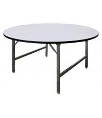 โต๊ะกลมขาพับ TFR - 120 ขนาด Ø120 x 74 ซม. (นั่งได้ 4-6 ท่าน)