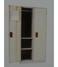 LK-102S ตู้แขวนเสื้อผ้า 2 ประตู 91*53*183 ซม.