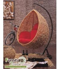 รหัสสินค้า B900 (Hanging Chair) ชิงช้าหวายจริง