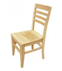 เก้าอี้อาหาร ไม้ยางพารา หลัง 4 เส้น (ทรงเตี้ยลด100บาท)