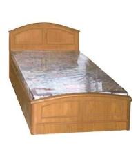 3.5' เตียง หอพัก รุ่นหัวโค้ง ขอบสัก