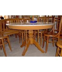 โต๊อาหาร ขาเช็คโก หน้าวางหิน  (ราคารวมหิน 3ฟุต เริ่มต้น9,930)