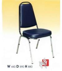 เก้าอี้ จัดเลี้ยง รุ่นธรรมดา เหล็ก0.8มม. (ราคาพิเศษ เมื่อสั่ง 50 ตัวขึ้นไป)