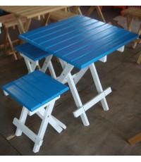โต๊ะชุดพร้อมเก้าอี้ 4 ตัว