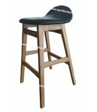 เก้าอี้ บาร์ ขาไม้