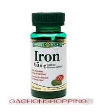 วิตามินบำรุงธาตุเหล็ก 65 mg